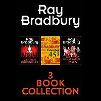 Ray Bradbury 3-Book Collection: Fahrenheit 451, The Martian Chronicles, The Illustrated Man
