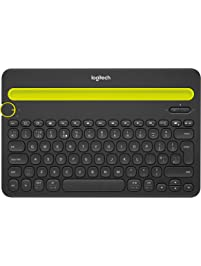 Logitech Bluetooth Multi-Device Keyboard K480 – Black – works with Windows  and Mac Computers, Android and iOS Tablets...