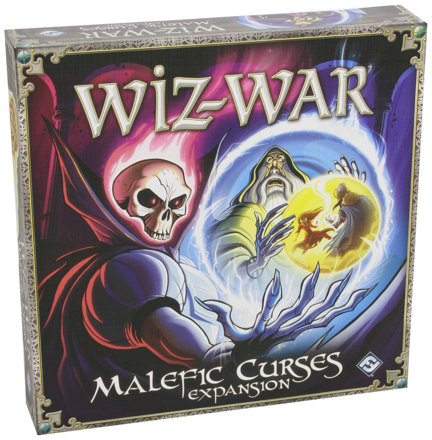 Wiz-War: Malefic Curses Expansion