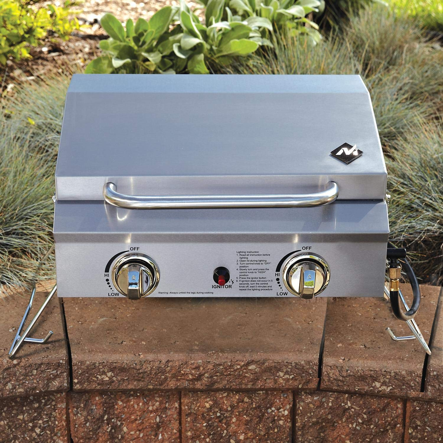 Member's Mark Portable Stainless Steel Gas Grill with Cover by