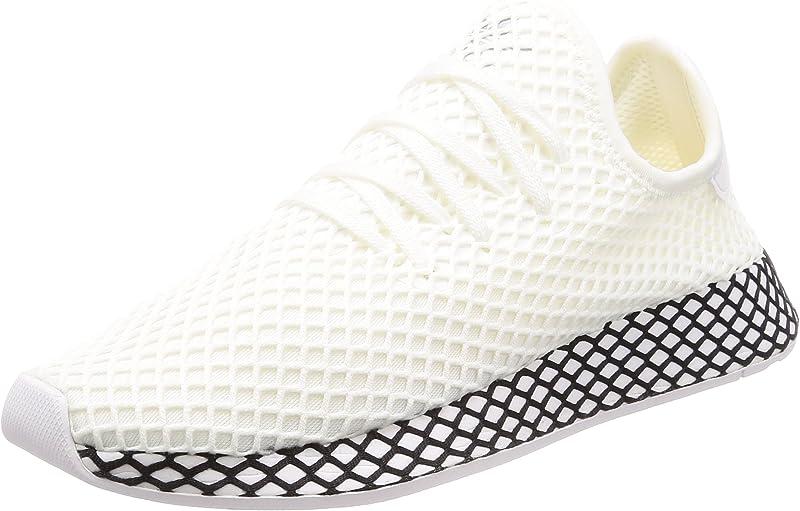 adidas Deerupt Runner Sneakers Fitnessschuhe Unisex Weiß Größe 36 bis 47 1/3