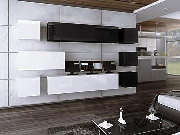 Homedirectltd Wohnwand Future 18 Anbauwand Moderne Wohnwand