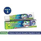 Dabur Odomos Naturals Cream - 100 g (Pack of 3)
