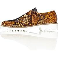 Marca Amazon - find. Zapatos de Piel Brogue