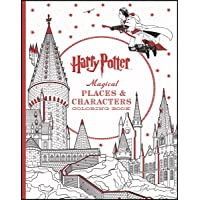 Harry Potter Magical Places Coloring Book