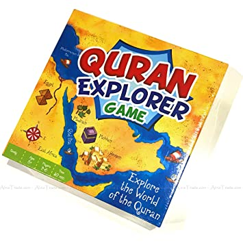 Quran Explorer Board Game: Amazon co uk: Toys & Games