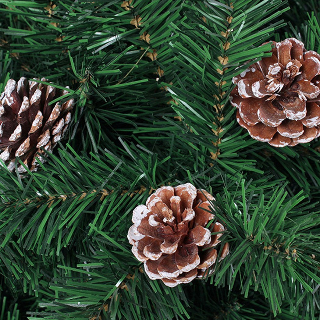 Coxeer Pine Cones, 72Pcs Christmas Hanging Pinecone Ornaments Xmas Tree Ornaments Party Supplies