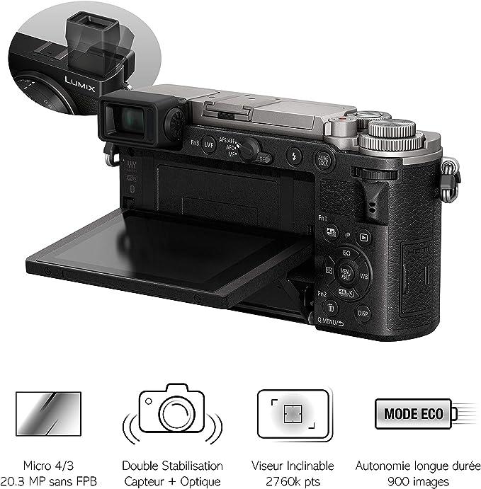 Panasonic Lumix Gx9 Silver 14 140 Kamera
