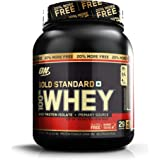 Optimum Nutrition (ON) Gold Standard 100% Whey Protein Powder - 2 lb + 20% More (Double Rich Chocolate)