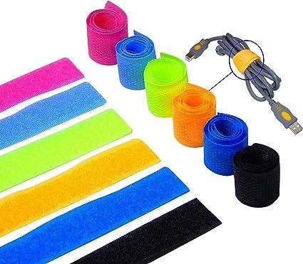 Convenient Reusable Nylon Strap Wire Management Cable Organizer Cord Tie