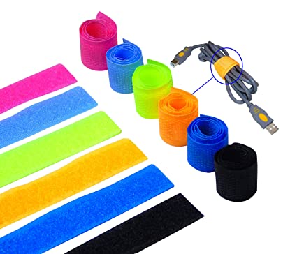 Reusable Releasable Cable Ties Different Types Hook Reusable Organizer Cord