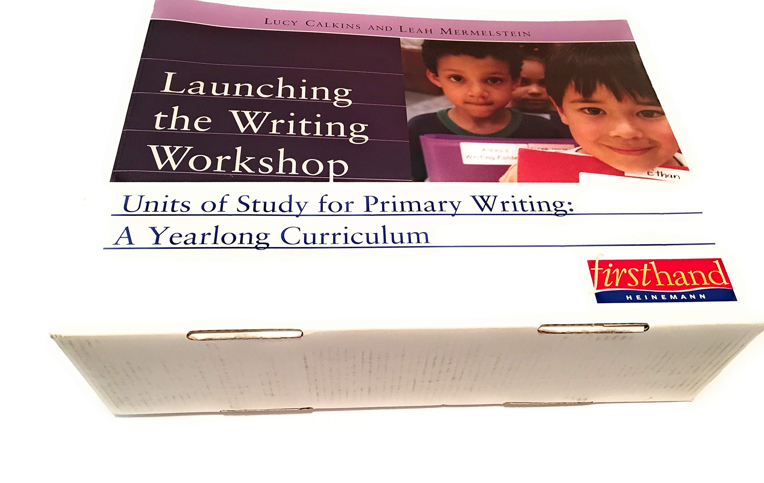 Complete set UNITS OF STUDY FOR PRIMARY WRITING: A YEARLONG CURRICULUM:  Conferring Handbook, Nuts and Bolts of Teaching Writing, CD-rom, 7 books:  Launching ...