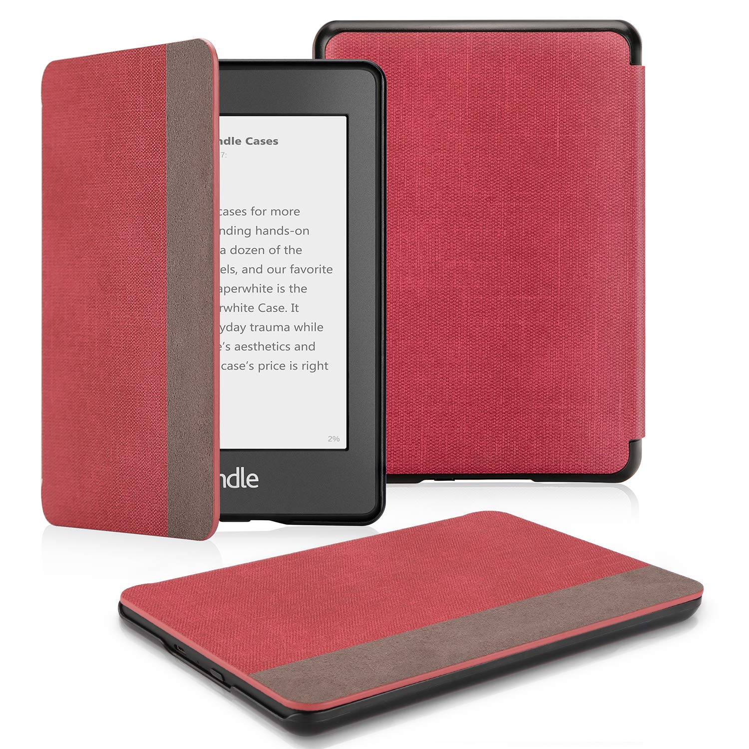 Smart Shell Cover with Auto Sleep Wake Feature for Kindle Paperwhite 10th OMOTON Kindle Paperwhite Case Love Tree 10th Generation-2018