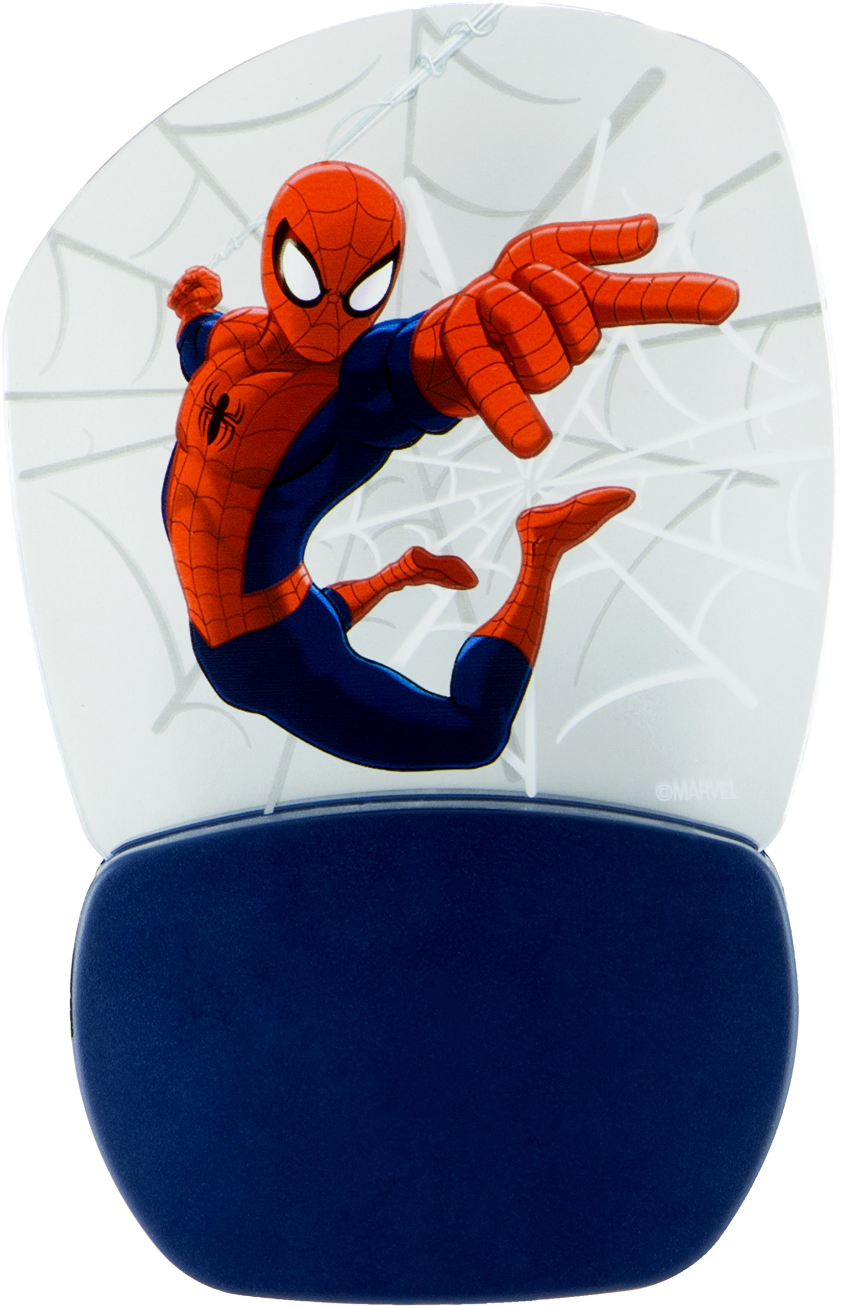 Marvel Ultimate Spider-Man 3D Motion Effect Night Light, Soft White Glow, Light Sensing, Long Life and Low Energy LED, 30271