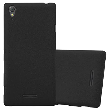 Cadorabo Funda para Sony Xperia T3 en Frost Negro ...