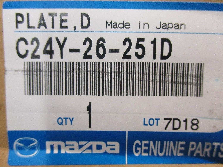 Mazda 3 2004-2013 Genuine Mazda OEM Disc Plate C24Y-26-251D