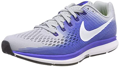 84e14894a4bf0 Nike Mens Wide Air Zoom Pegasus 34 (4E) Running Shoes (7.5 EEEE US