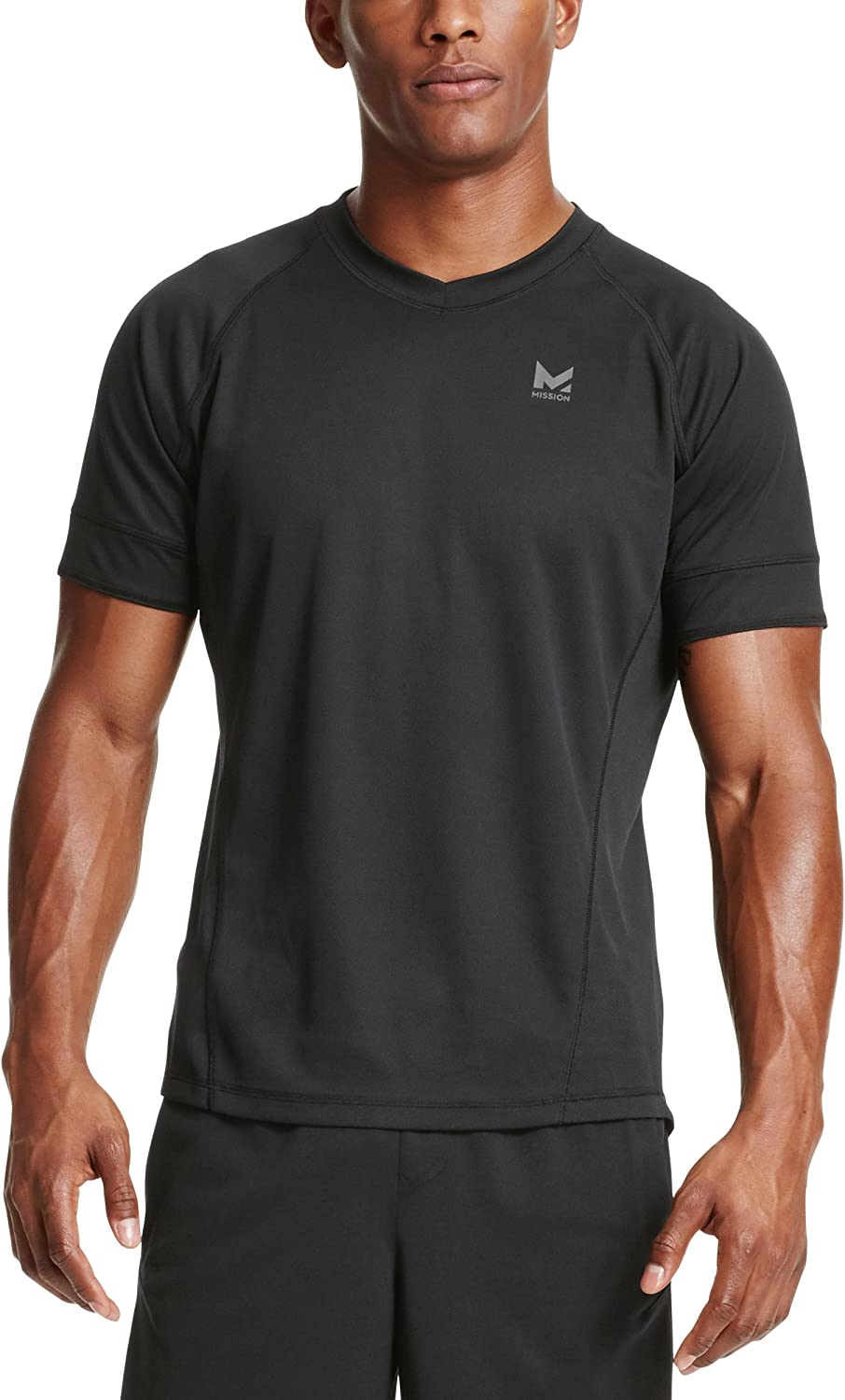 Mission Men's VaporActive Proton Short Sleeve Running T-Shirt
