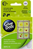 Glue Dots Craft Roll, Contains 200 (.5 Inch) Diameter Removable Adhesive Dots (08248)