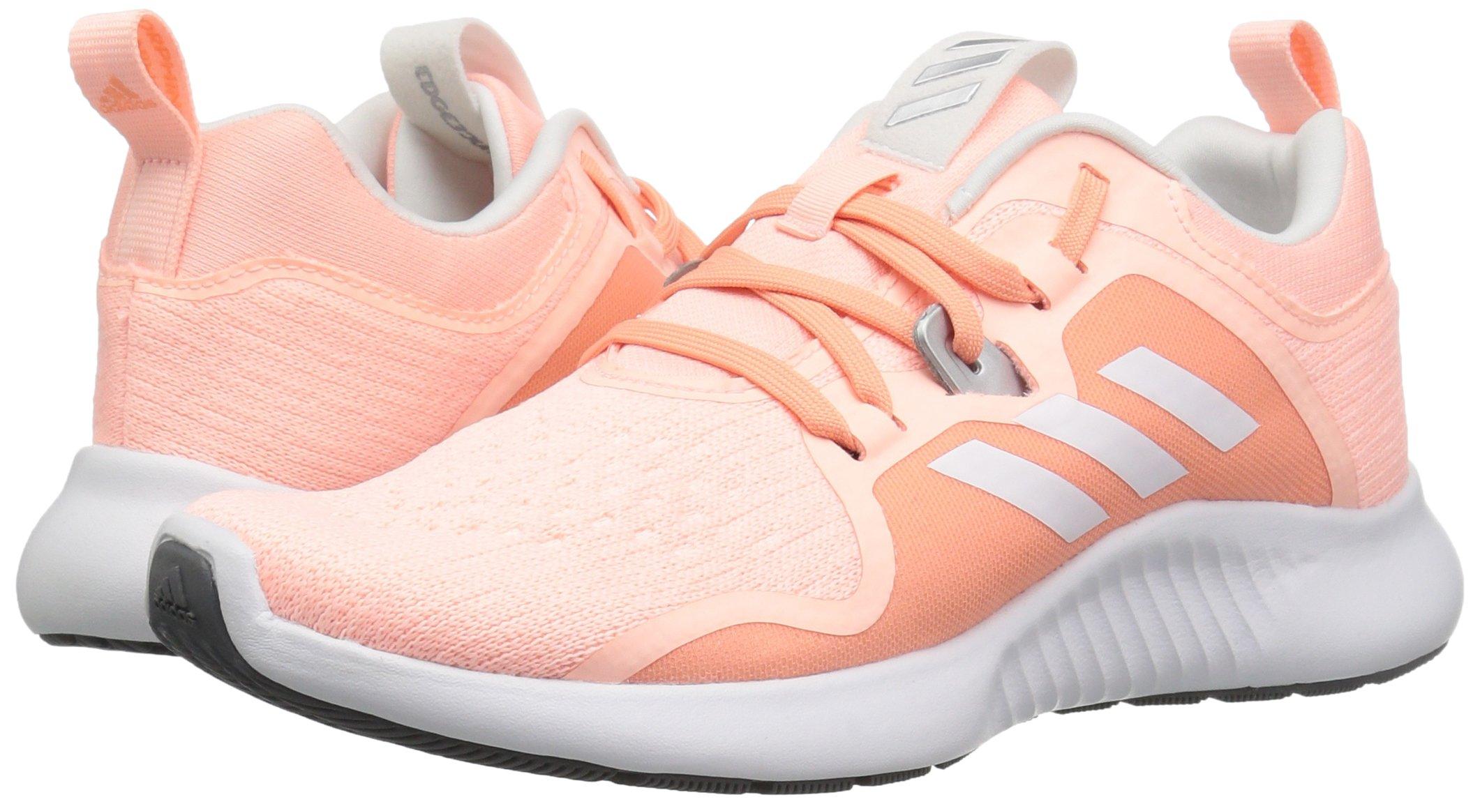 adidas Women's EdgeBounce Running Shoe Clear Orange/White/Copper Metallic 5 M US by adidas (Image #5)