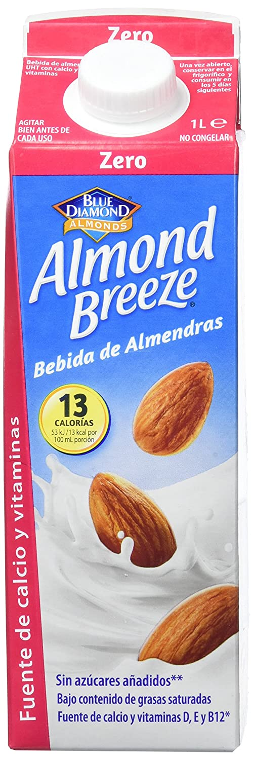 Almond Breeze Bebida de Almendra Zero - Paquete de 6 x 1000 ml - Total: 6000 ml: Amazon.es: Amazon Pantry