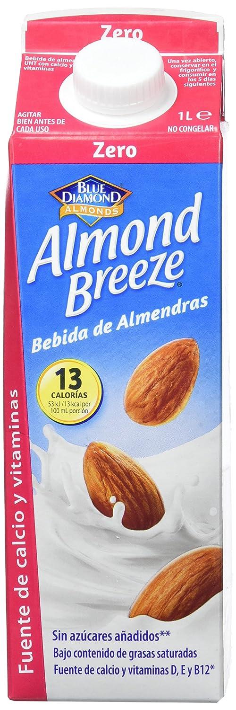 Almond Breeze Bebida de Almendra Zero - Paquete de 6 x 1000 ml - Total: 6000 ml: Amazon.es: Amazon Pantry