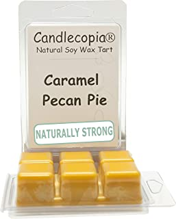 product image for Candlecopia Caramel Pecan Pie Strongly Scented Hand Poured Vegan Wax Melts, 12 Scented Wax Cubes, 6.4 Ounces in 2 x 6-Packs