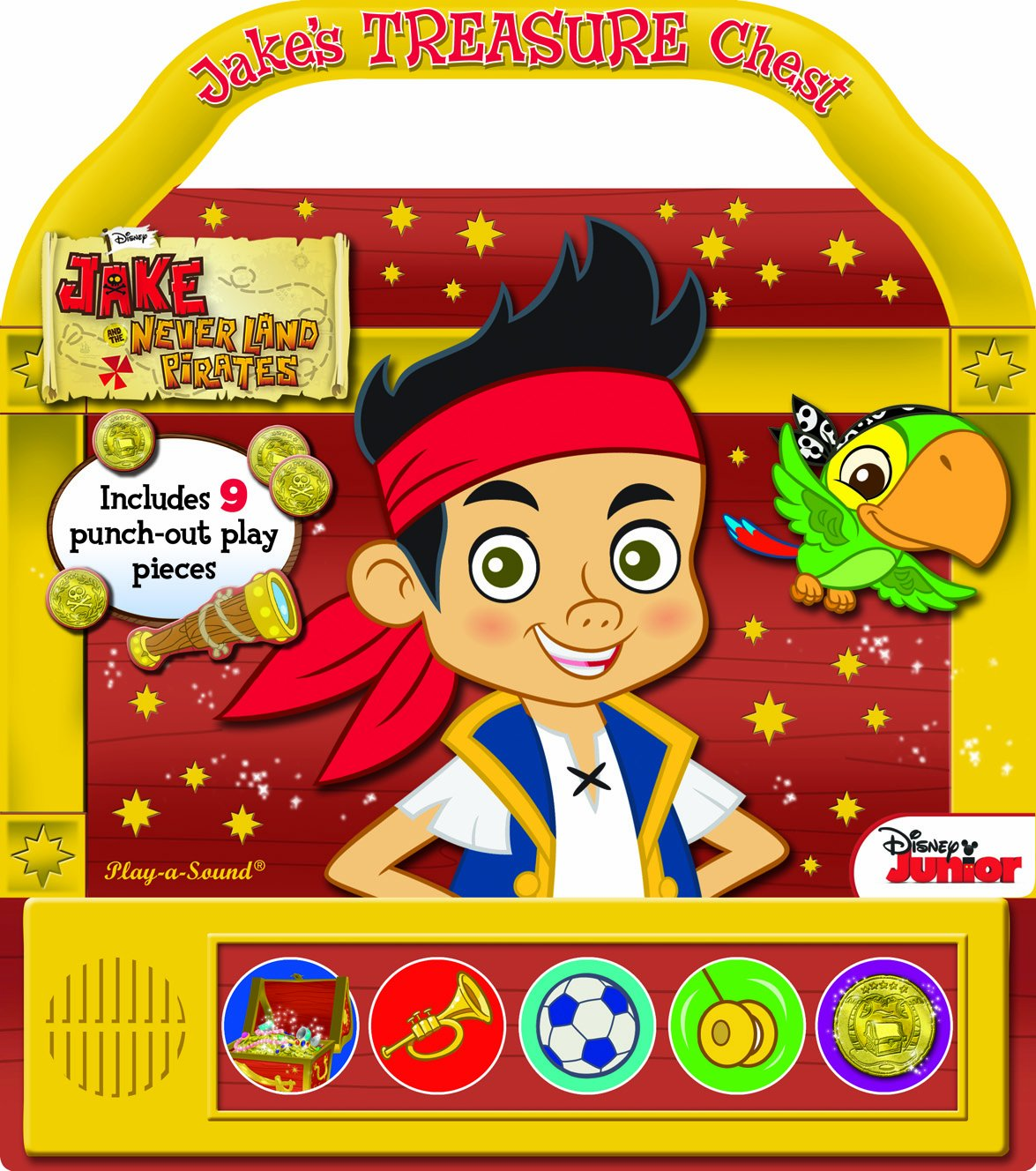 Jake and the neverland pirates treasure chest printable - Disney Jake And The Neverland Pirates Jake S Treasure Chest Play A Sound Jake And The Never Land Pirates Play A Sound 9781450861960 Amazon Com Books
