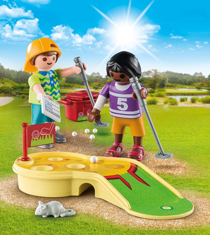PLAYMOBIL/® Children Minigolfing 9439