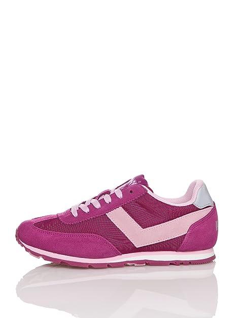 Pony Zapatillas Lons-le-Saunier Fucsia EU 36: Amazon.es: Zapatos y complementos
