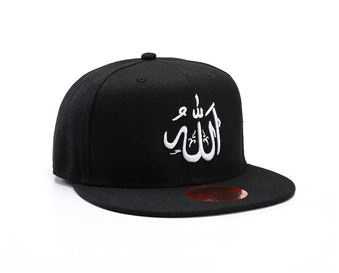 NUEVA Gorra Snapback Musulman Negra con Caracteres Arábicos