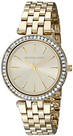 e33da0601a1d Amazon.com  Michael Kors Women s Darci Gold-Tone Watch MK3365 ...