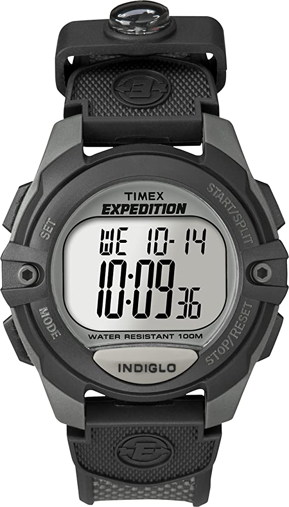 Timex Men's Expedition Classic Digital Chrono Alarm Timer Full-Size Watch