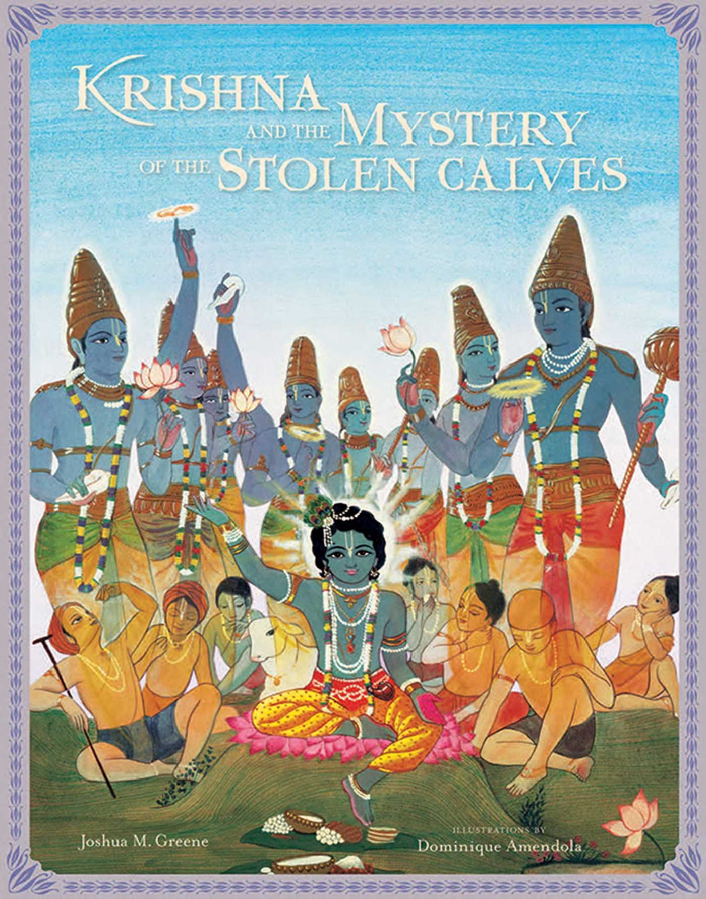 Krishna and the Mystery of the Stolen Calves (Mandala Classics)