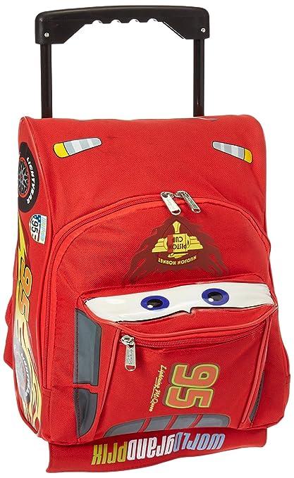 a9f6b6031c34 Disney Pixar Cars 2 Rolling Lightning McQueen Luggage Suitcase Race Car