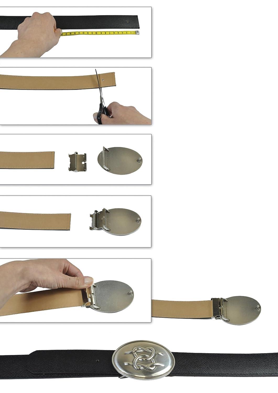 VaModa Hebilla para cintur/ón con motivo Nero Belt Buckle