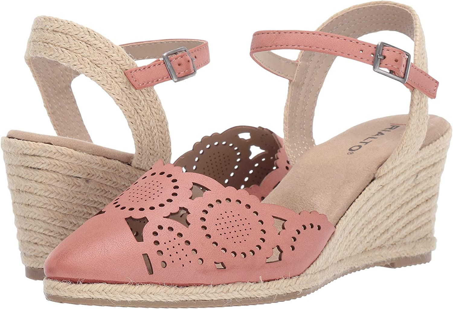 f3d1dfcdbb Amazon.com | RIALTO Shoes COYA Women's Sandal | Platforms & Wedges
