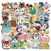 WayOuter Animal Crossing Pegatina 100 Piezas Calcomanías Vinilos para computadora portátil Niños Coches Motocicleta…