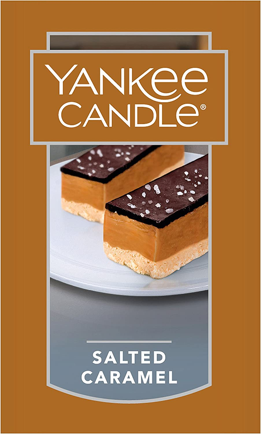 Yankee Candle Large Jar Candle Salted Caramel: Home & Kitchen