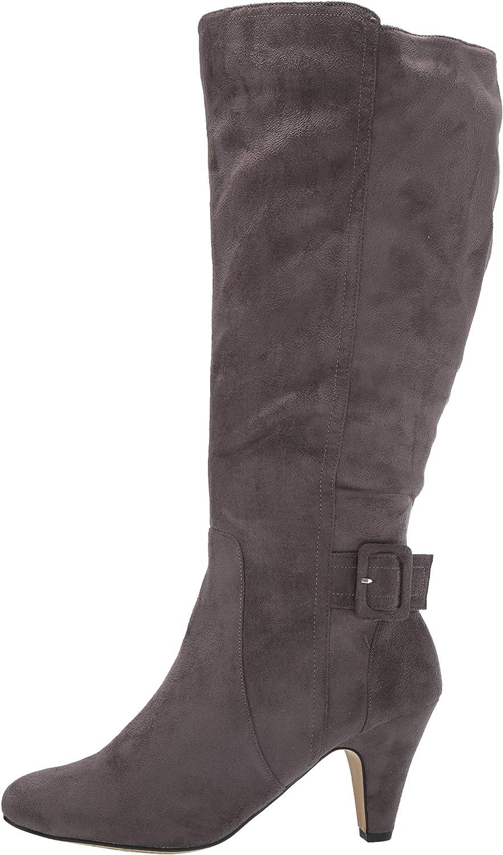 Bella Vita Womens Troy Ii Plus Dress Wide Calf Boot Knee High