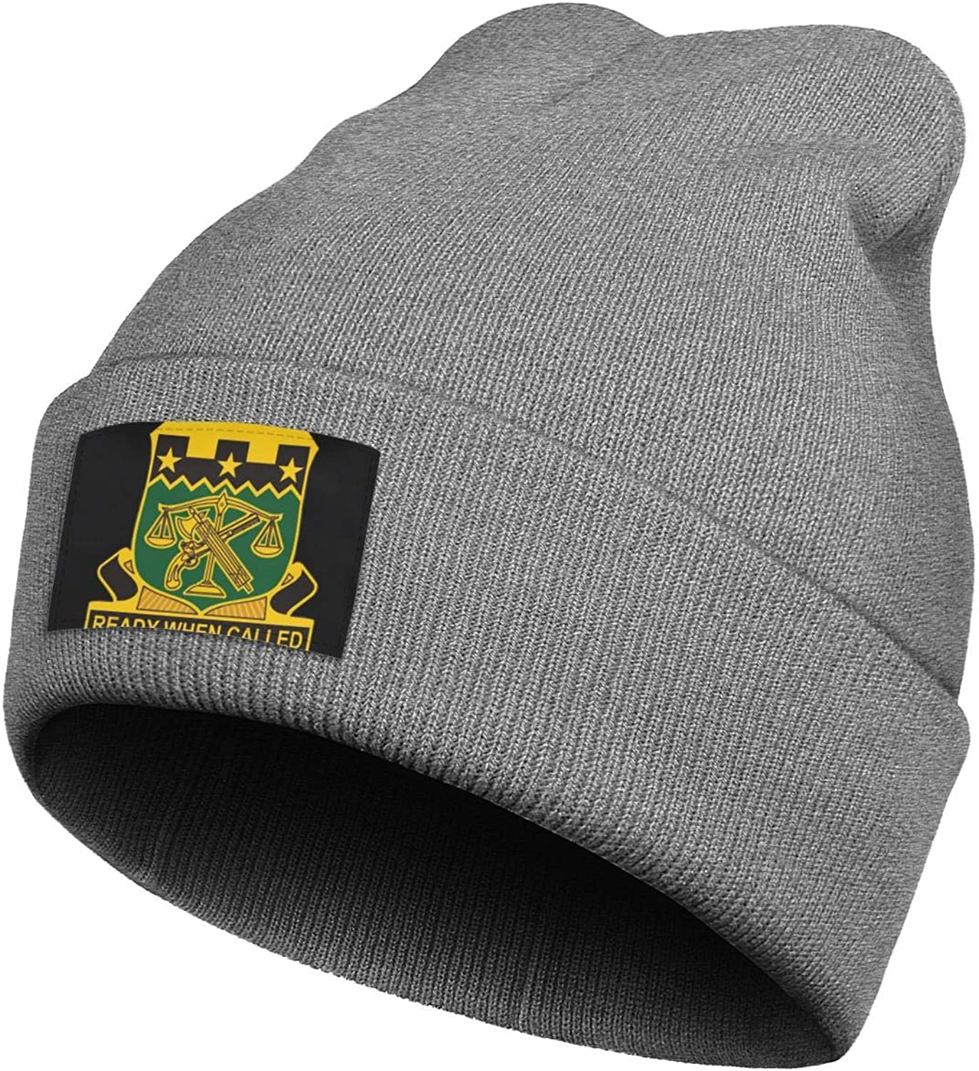 Cdfkjd Beanie Men Women USA 105th Military Police Battalion Hats Perfect for Running