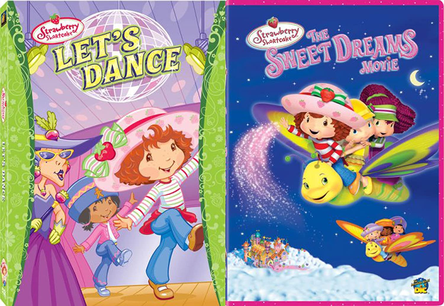 Amazon Com Strawberry Shortcake 2 Dvd Bundle Let S Dance The Sweetest Dreams Movie 2 Movie Collection Various Various Movies Tv