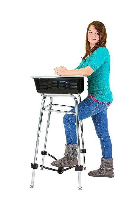 Amazon Com Standing Desk Conversion Kit For Student Desk Leg