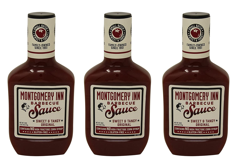 Montgomery Inn Barbecue Sauce, Original, 18oz (Pack of 3)