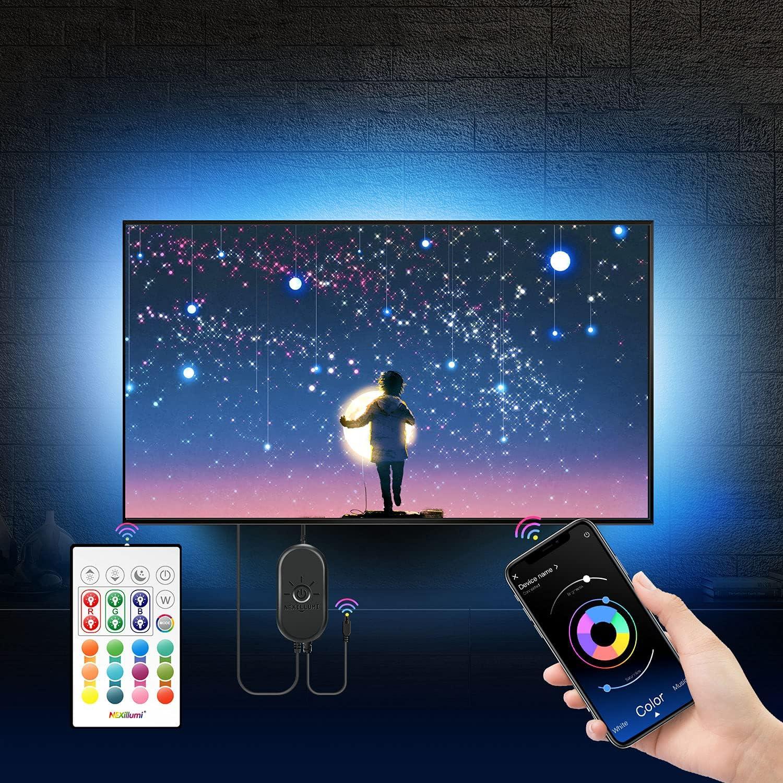 5V 5M USB//Battery LED Strip Light RGB 5050 TV PC Back Lights COLOUR CHANGING AU