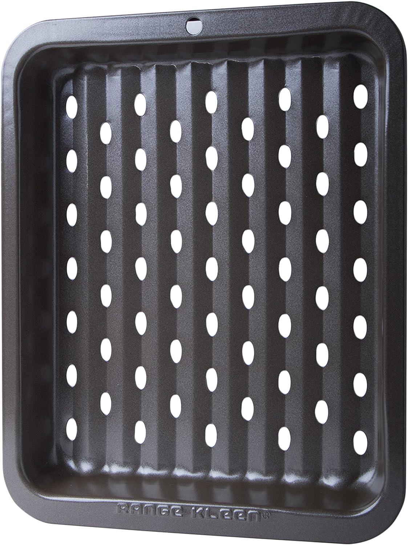 Range Kleen Non-Stick Petite Bake Ware Crisper Pan, 1 pc measures 8 x 10-Inch