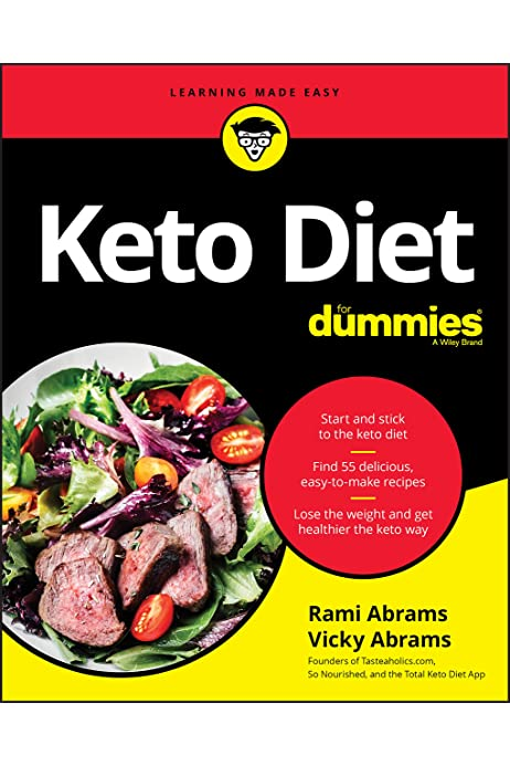 Keto Diet For Dummies Abrams Rami Abrams Vicky 9781119578925 Amazon Com Books