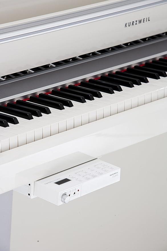 Kurzweil CUP2 PW Piano Digital mueble blanco perlado: Amazon ...