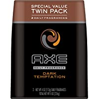Axe Daily Fragrance, Dark Temptation Twin Pack, 4 Ounce
