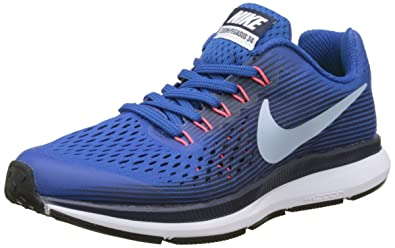 release date: a05d1 74f50 Nike Jungen Zoom Pegasus 34 (GS) Laufschuhe Blau (Blue Jay/Lt Armory